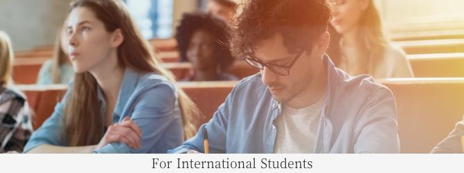 For International Student